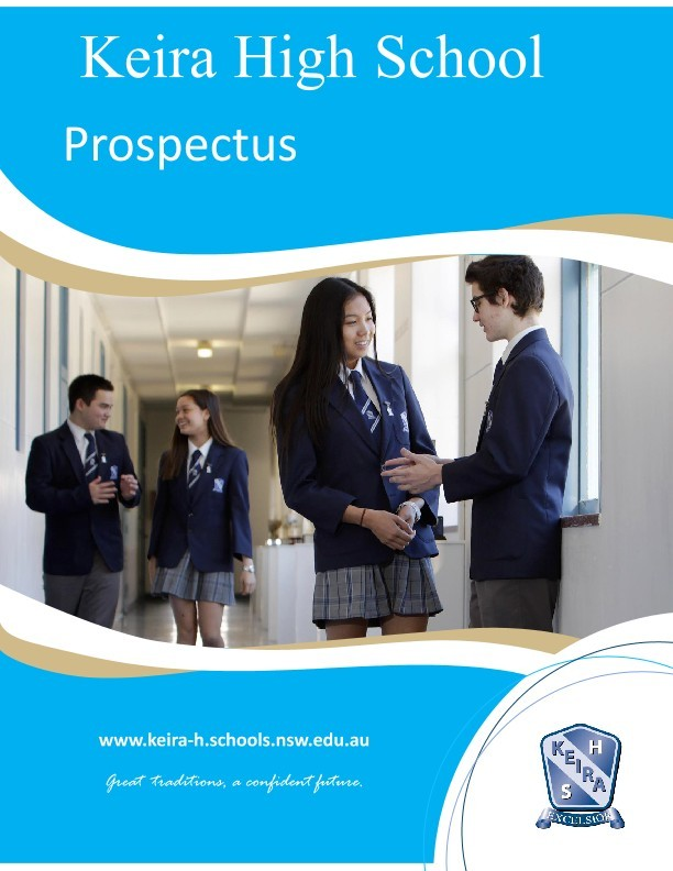 Keira High School latest prospectus document